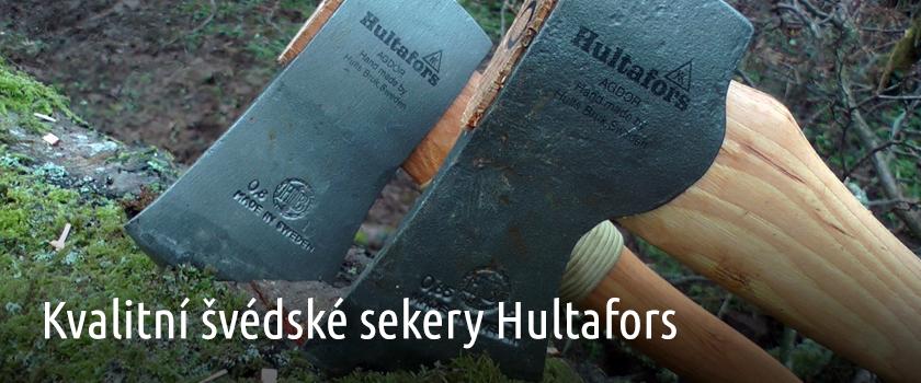 Kvalitní sekery Hultafors